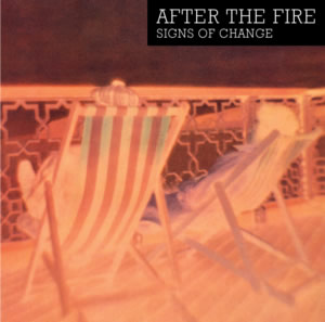 Sleeve design of Signs of Change from After The Fire CD with 4 bonus tracks.